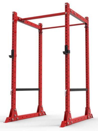 Training Power Rack red